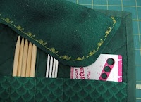 DP Knitting Needle Case, A Tutorial - could make this for my shorter needles