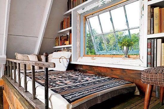read hereDreams, Loft Bedrooms, Ladders, Treehouse, Reading Nooks, Trees House, Windows, Loft Spaces, Loft Beds