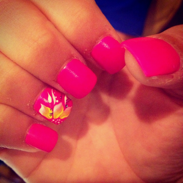 My summer nails:): Color