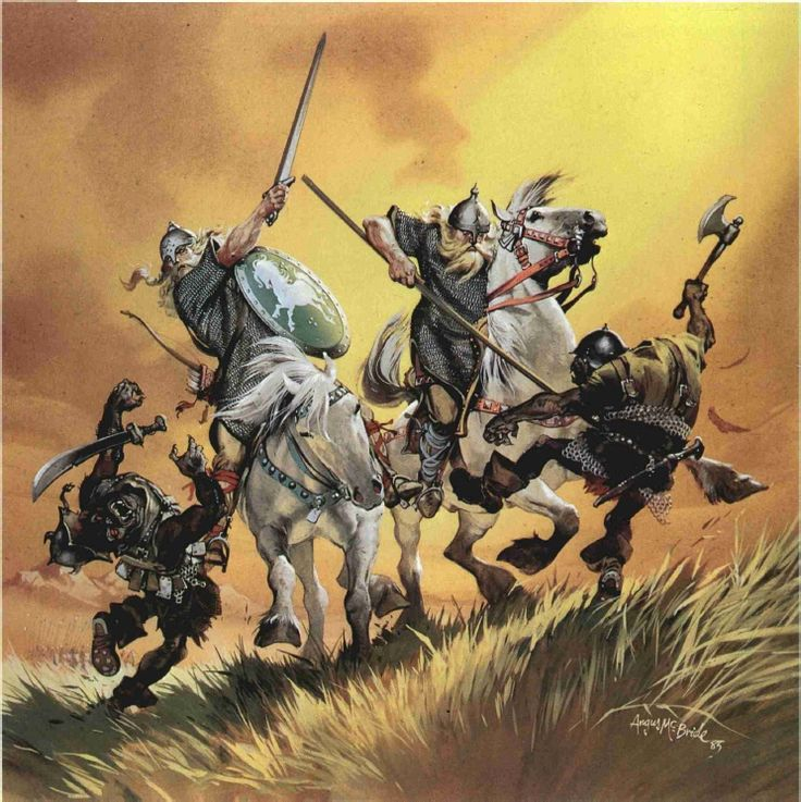 Riders of Rohan by Angus McBride