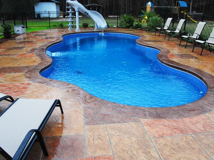 25 best ideas about fiberglass inground pools on - Best way to finance a swimming pool ...