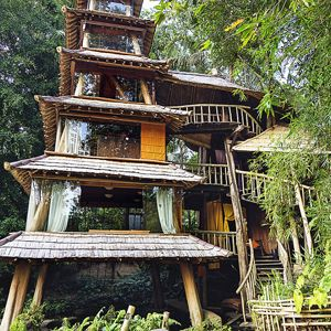 The Pagoda Bambu Indah Indonesia