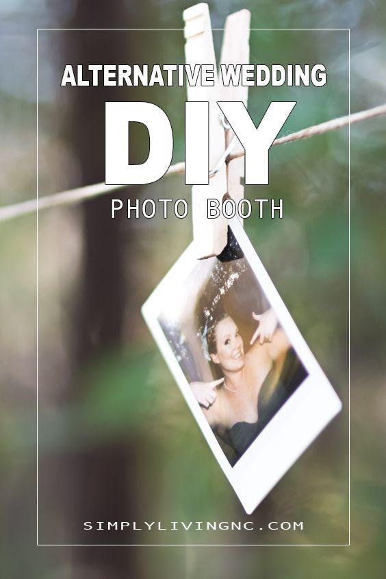 Super Fun Alternative Idea To The Traditional Wedding Photo Booth Photobooth Alternativewedding Weddingideas Simpleliving Diy Howto