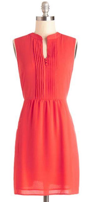 pretty #coral dress http://rstyle.me/n/gvubzr9te
