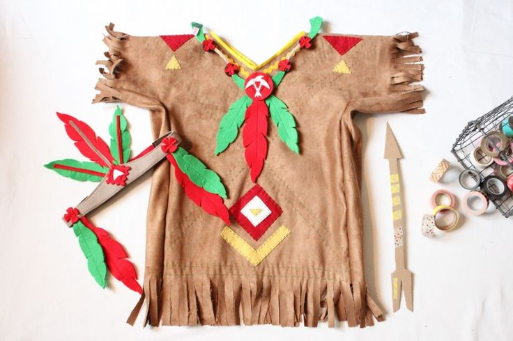 AnnyMay Le Blog: Un costume d'indien!