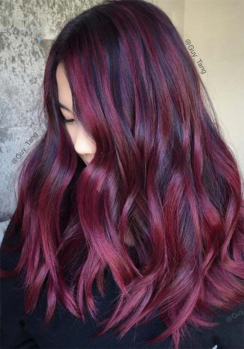 100 Badass Red Hair Colors: Auburn, Cherry, Copper, Burgundy Hair Shades                                                                                                                                                                                 More