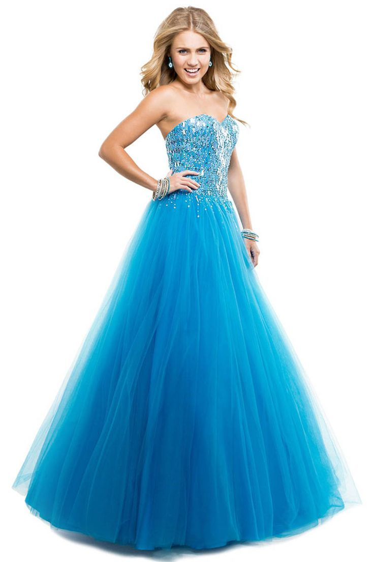 7 best Ball gowns images on Pinterest | Princesses, Baby blue prom ...