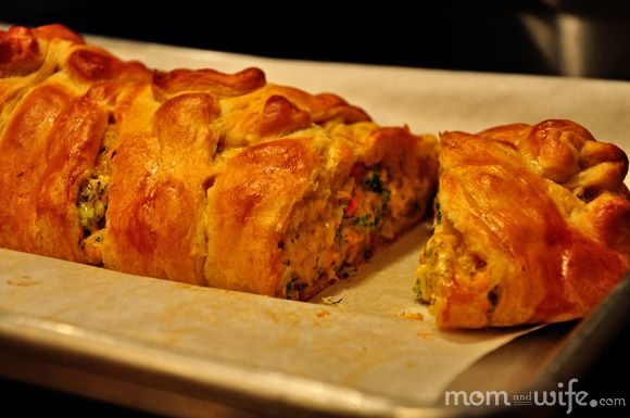 Broccoli Chicken Braid - to be Epicurized!