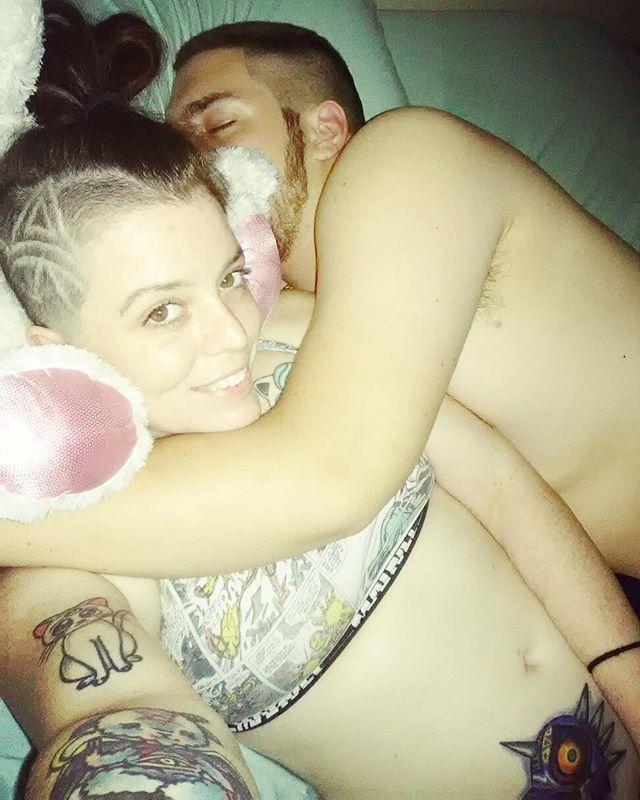 The best feeling ever. 💖😍 #daddy #majorasmask #majorasmasktattoo #zelda #zeldatattoo #1yearstrong #relationshipgoals #nintendonerd #nintendo #nintendotattoo #artemis #artemistattoo #sailormoon #sailormoontattoo #pokemontattoo #pokemon #jigglypuff #jigglypufftattoo #shavedhead #hairtattoo - (@munchiequeen713) - Instaliga is the best instagram web-viewer