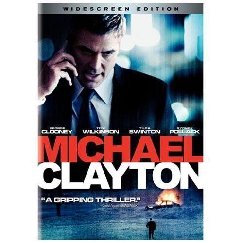Michael Clayton (DVD, 2008, Widescreen) George Clooney Tom Wilkinson