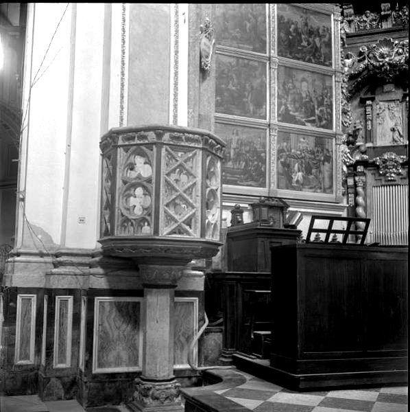 Púlpito de la Catedral de Valencia. 1955
