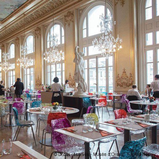 Musée d'Orsay - first floor restaurant