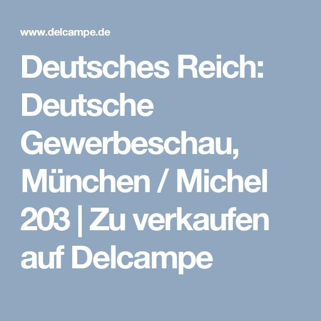 Deutsches Reich: Deutsche Gewerbeschau, München / Michel 203    Zu verkaufen auf Delcampe