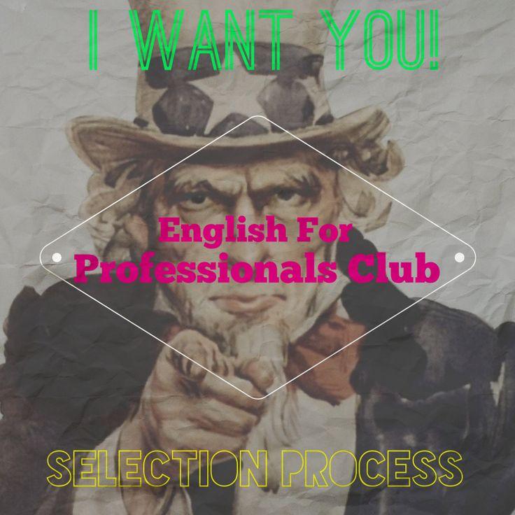 Proceso de Selección para English for Professionals Club