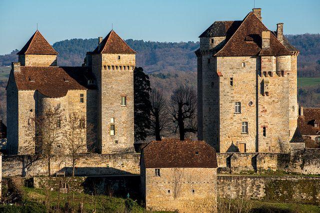 Châteaux de Plas et de Saint Hilaire | by dprezat. Curemonte. Limousin