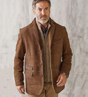 Mens Designer Leather Jackets and Suede Jackets | PatrickJames.com