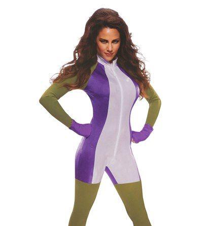 She Hulk Women's Jumpsuit Costume