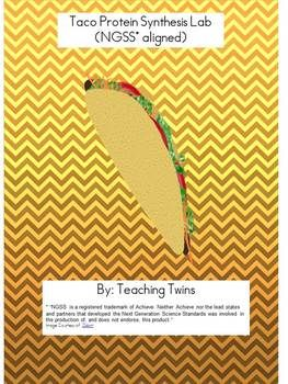 FREE protein synthesis activity using tacos.  NGSS aligned.  Take a look!