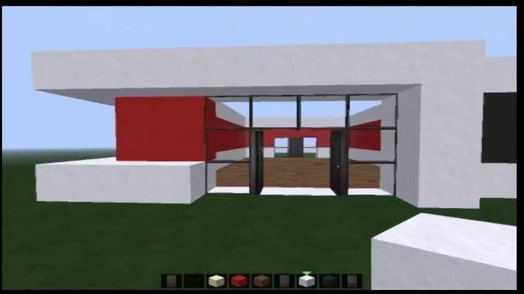 Minecraft Tutorial Geile Moderne villa Bauen Part 1
