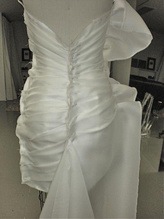 Wedding dress gussets in buildings