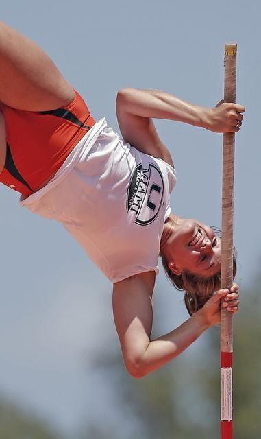 University of Miami pole vaulter Alysha Newman overcomes fear to succeed