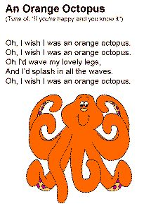 "Lyrics to ""Orange Octopus"""