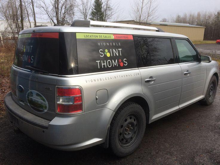 Habillage de véhicule - Vignoble Saint Thomas