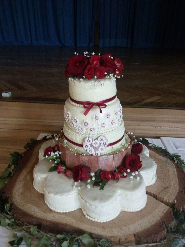 Svatební dort, 5 pater