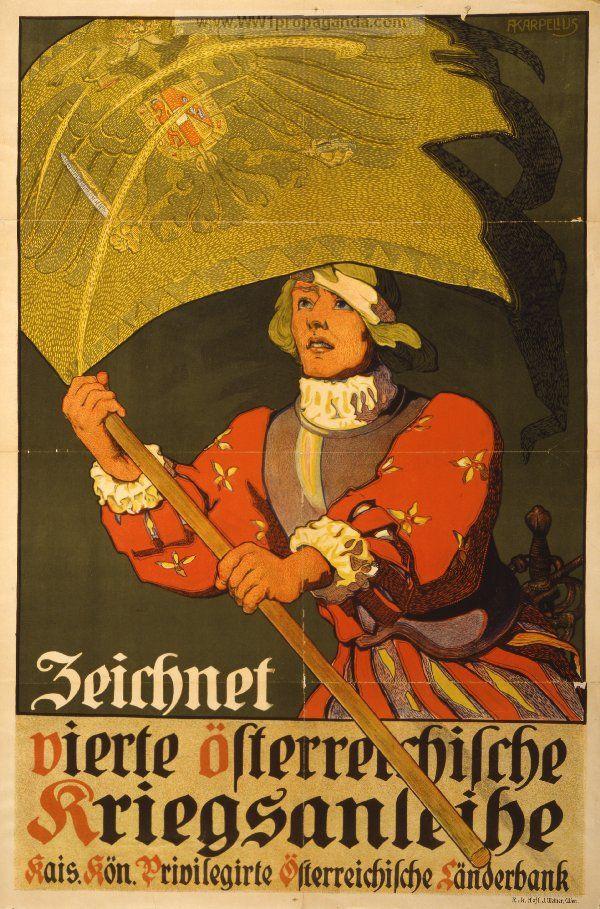 Examples of Propaganda from WW1 | Austrian WW1 Propaganda Posters Page 10