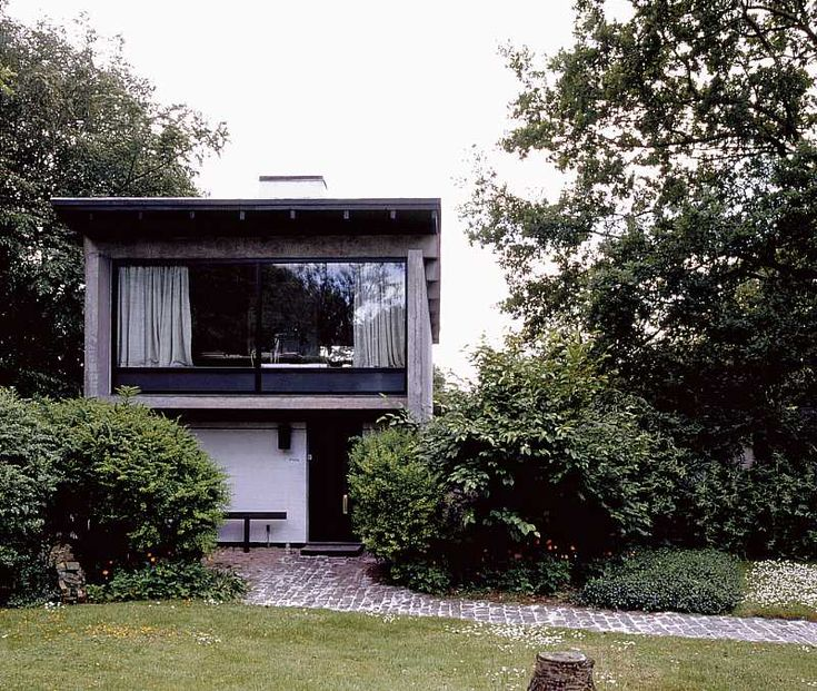 Knud Friis - Architect's own house, Brabrand 1958.