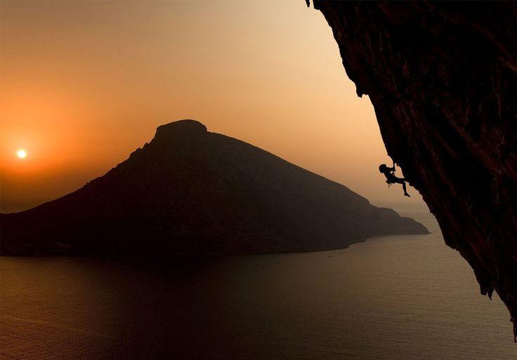 Life's Best #climbing #island #kalymnos #greece #sunset #extreme