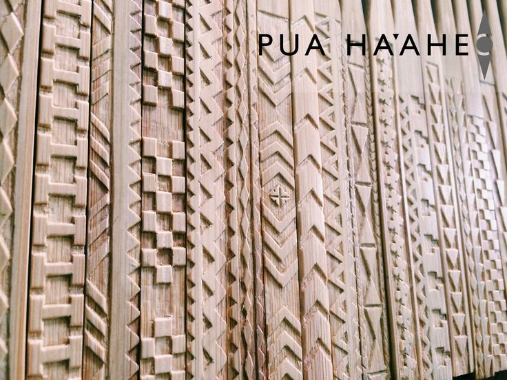 Collection of Ohe Kapala hairpieces #Hawaii #Bamboo #Art #Puahaaheo