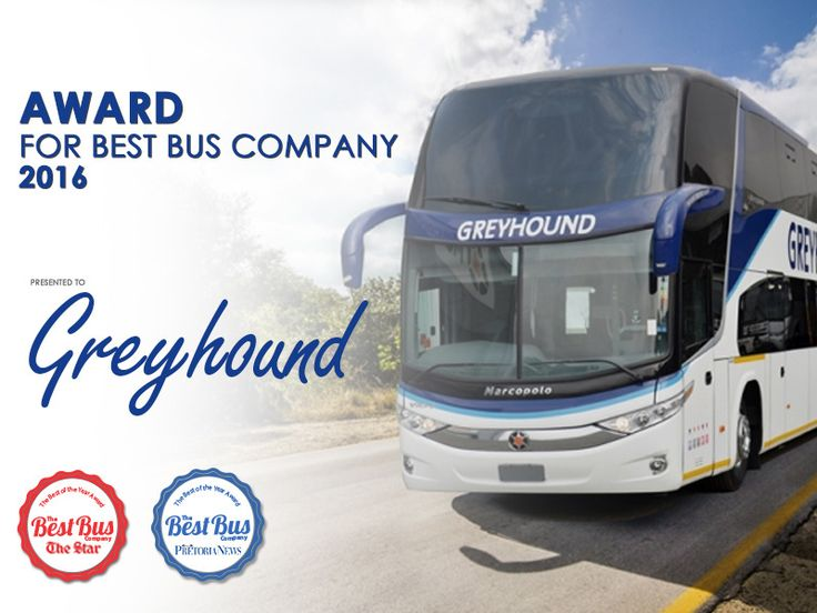 We have big #News to share! We are proud to announce that we have been voted the Number One Bus Company by The Star SA and Pretoria News publications. We appreciate the votes from our fans and would like to thank you for your support. #GreyhoundForever #Proud
