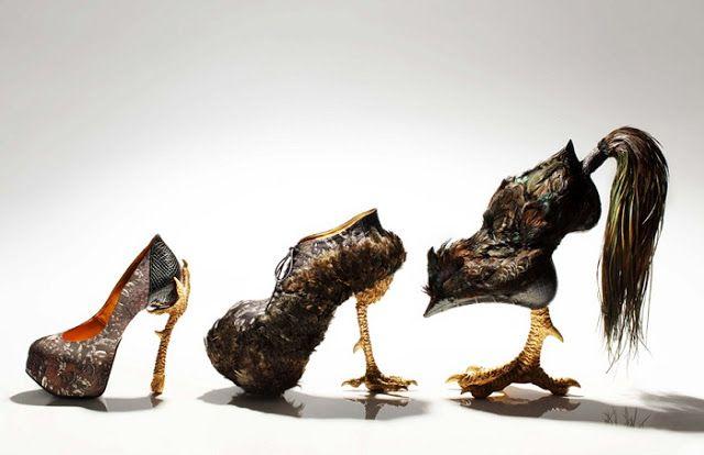 Новости: Эпатажная коллекция обуви от японского дизайнера