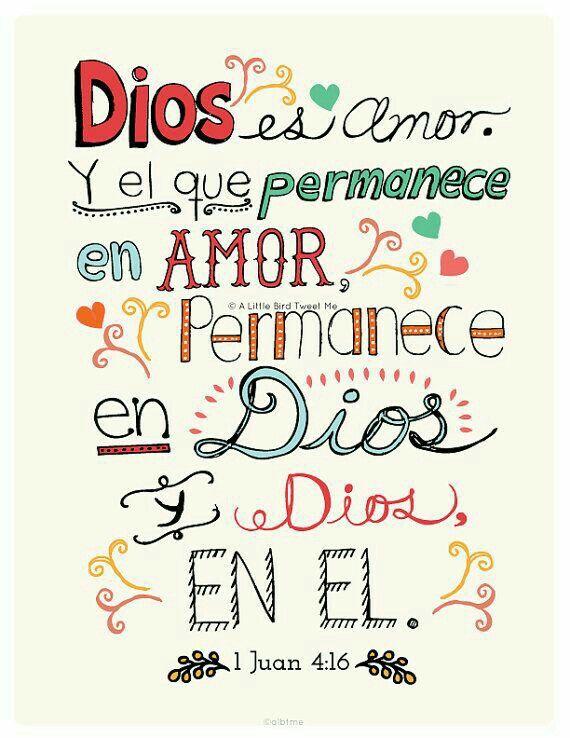 Dios es mi alegria y mi esperanza en momentos de incertidumbre. <3