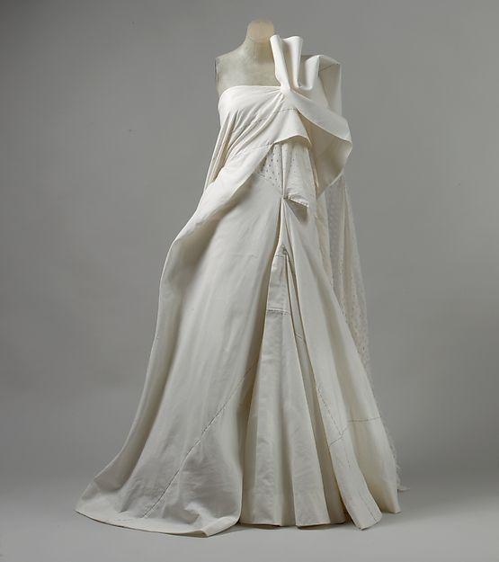 Wedding dress- Yohji Yamamoto S/S 2000 want to buy & wear to class
