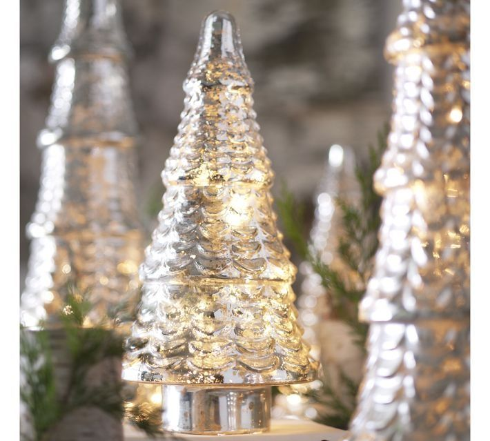 1000+ Images About Mercury Glass Trees On Pinterest