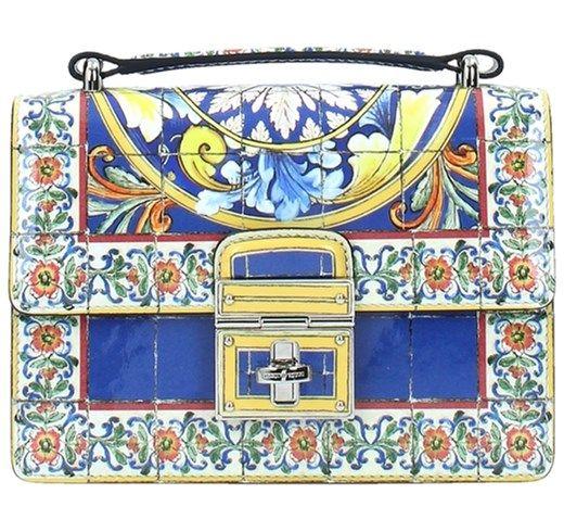 Dolce&Gabbana BB5914AP47587771 Borse a Mano Multicolor b-exit viola lunghe