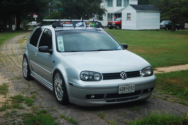 Classic 2003 Mkiv Gti With Thule Volkswagen