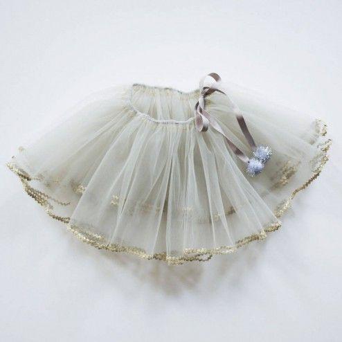 Spring fling. white and gold tutu by Atsuyo et Akiko. #designer #kids #dressup