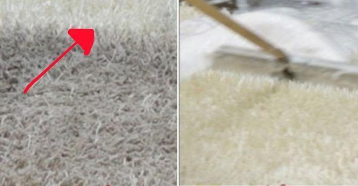 Nettoyez En Profondeur Vos Tapis Avec Des Ingredients Disponibles Dans Votre Cuisine Nettoyer Tapis Laver Un Tapis Nettoyage Tapis