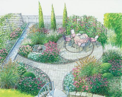 299 besten Garten Bilder auf Pinterest Verandas, Gartenhäuser - garten gestalten vorher nachher