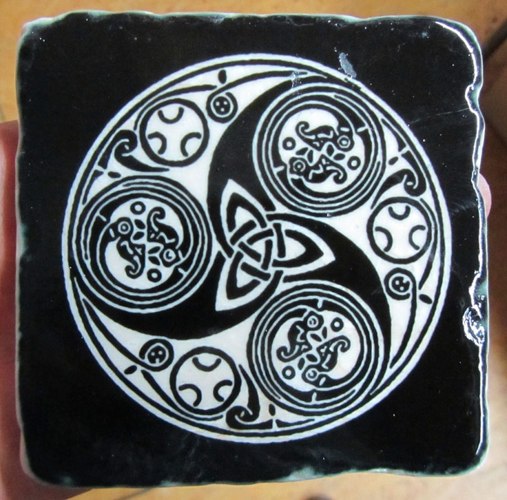 The Celtic symbol of three conjoined spirals may have had triple significance similar to the imagery that lies behind the triskelion. The triple spiral motif is a Neolithic symbol in Western Europe. It is considered a Celtic symbol but is in fact a pre-Celtic symbol.[citation needed] It is carved into the rock of a stone lozenge near the main entrance of the prehistoric Newgrange monument in County Meath, Ireland.