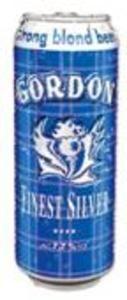 Gordon Finest Silver - Bierebel.com, la référence des bières belges