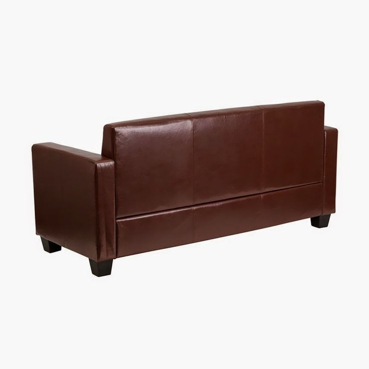 Sale Off 56% Flash Furniture Grand Series Brown Leather Sofa [Y-H902-3-BN-LEA-GG] - Store Online for Your Live and Style
