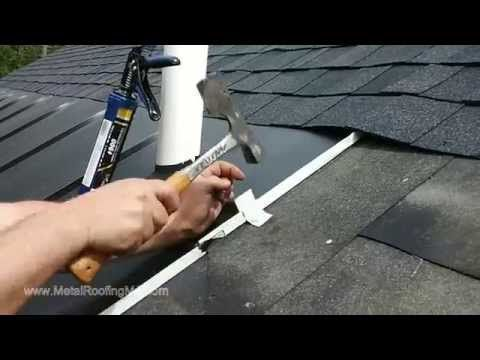 Quot Install Metal Roof Ice Belt Panels To Prevent Ice Dams
