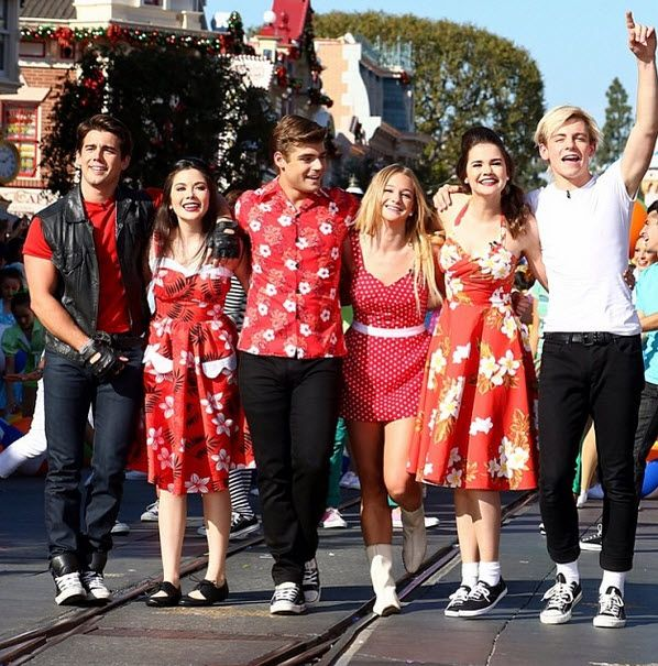 """Video: """"Teen Beach Movie"""" Cast Taped Their Performance For The 2013 Disney Parks Christmas Day Parade"""