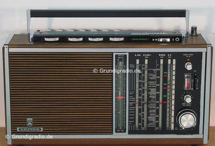 Grundig Satellit 210 | Technik, Lautsprecher