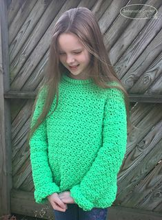 Ravelry: The Wanderer Sweater crochet pattern for Kids. pattern by Kristine Mullen  #crochetpattern