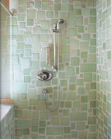sea glass tile bathroom mosaic sea glass tile bathroom shower in pretty shades of 20315